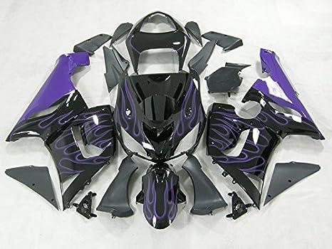 Amazon.com: Moto Onfire ABS Injection Molded Fairing Kits ...