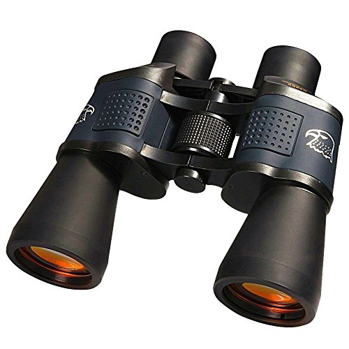 Wangyishengshi DAXGD Waterproof Fogproof Night Vision Binoculars 8x35 High Powered Military Optical Telescope with Strap Backpack Lens Cap and Eyepiece Cap