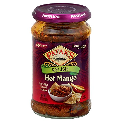 Pataks Hot Mango Relish Packages product image