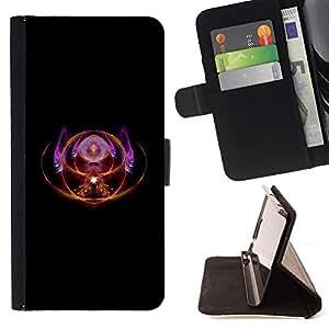 Momo Phone Case / Flip Funda de Cuero Case Cover - Magia tercer ojo espiritual del símbolo Dise?o Arte - LG OPTIMUS L90
