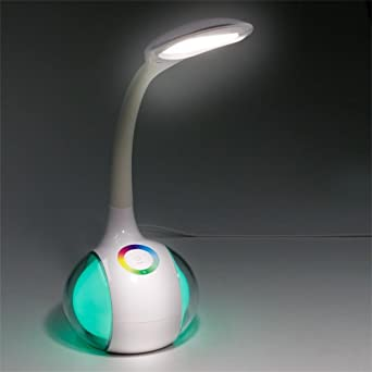 LED Eye Protection Color Changeable Table Lamp by Happy2Buy Desk Lights at amazon