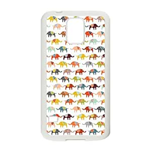 HB-P-CASE DIY Design Elephant Pattern Phone Case For SamSung Galaxy S5 i9600