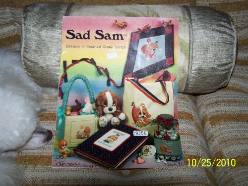 SAD SAM - Designs in Counted Cross Stitch by June Grigg/designer 1983 ()