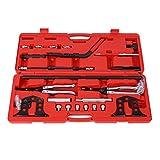 Spring Compressor Kit, Universal Car Engine Overhead Valve Spring Remover Installer Stem Seal Installer and Remover Tool Kit