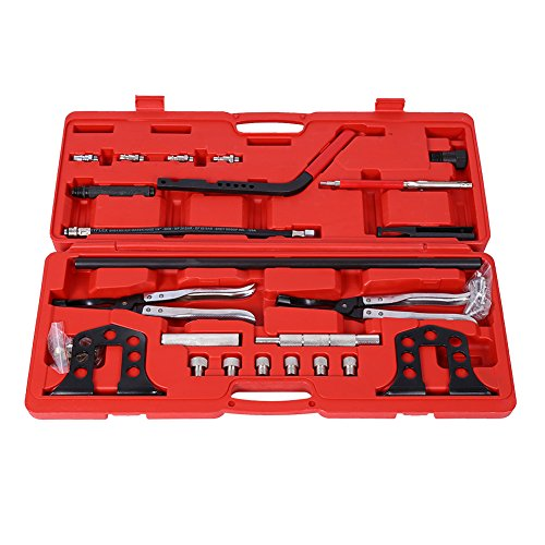 Spring Compressor Kit,Car Engine Overhead Valve Spring Stem Seal Installer and Remover Tool - Seal Valve Compressor