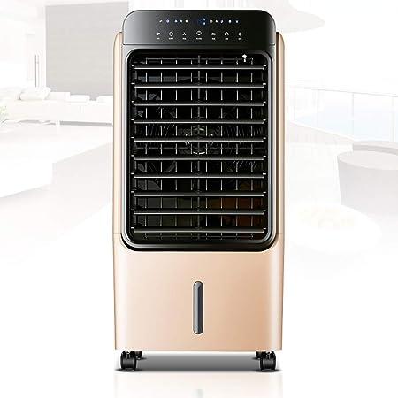 Climatizador Evaporativo,Climatizador Portátil, Enfriador de aire portátil, ventilador con control remoto, tanque de agua de 40 l - con filtro de polvo - configuración de 3 velocidades - con función d: Amazon.es: Hogar