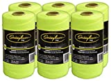 Stringliner Mason Line Replacement Roll Contractor Pack 1,000' - Fluorescent Yellow (6 Pack) - SL35765CPK