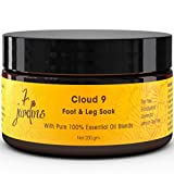 7 Jardins Cloud 9 Foot & Leg Soak for Relaxation with 100% Natural & Pure Therapeutic Grade Dead Sea and Epsom Salts with Essential Oils (Tea Tree, Eucalyptus and Lavendin) Sulfate and Paraben Free