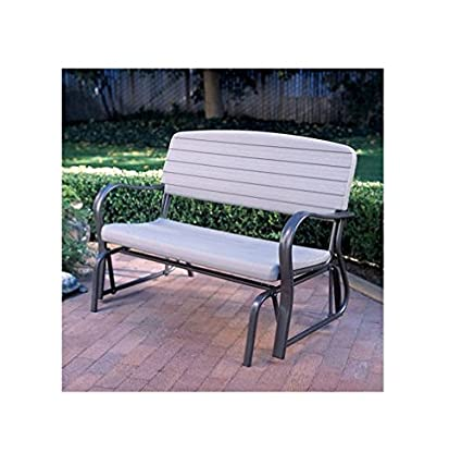 Marvelous Amazon Com Lifetime Glider Bench Powder Coated Steel Ocoug Best Dining Table And Chair Ideas Images Ocougorg
