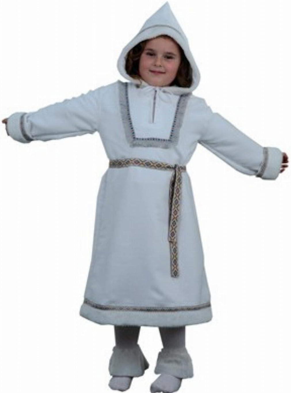 Disfraz de esquimal para niña - Talla - 7-9 años: Amazon.es: Ropa ...