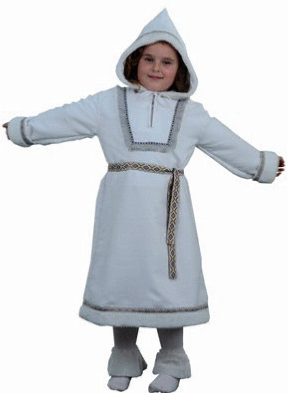Disfraz de esquimal para niña - Talla - 7-9 años