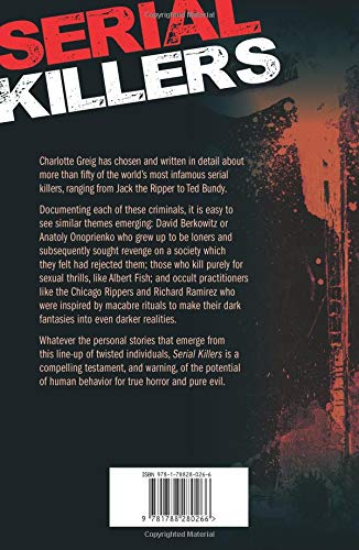 Serial Killers 9781788280266 Amazon Books