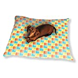 Geometrical Patchwork Dog Pillow Luxury Dog Cat Pet Bed