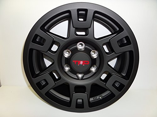 TRD PRO SEMA BLACK ALUMINUM RIM INDIVIDUAL FITS MULITPLE TOYOTA VEHICLES (Toyota 4runner Wheels)