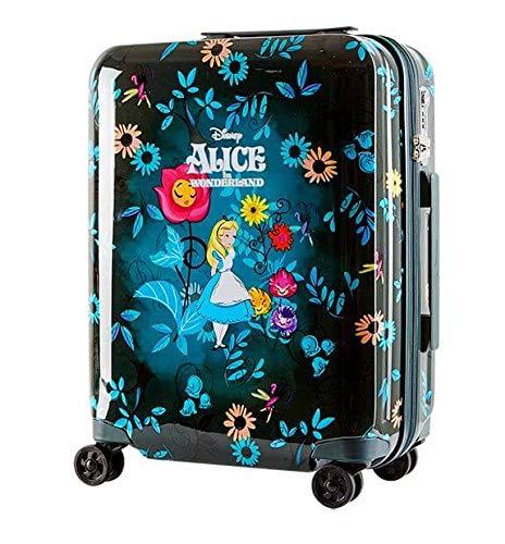 H-TRAVEL スーツケース キャリーケース SUITCASE 旅行 出張 20インチ 機内用 不思議の国のアリス エディション(海外直送品) B07QKPGS56