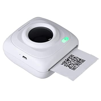 Amazon.com: SODIAL Portable Printer Mini Wireless Bluetooth ...