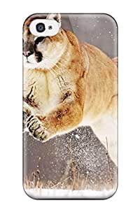 Rene Kennedy Cooper's Shop Mountain Lion Fashion Tpu 4/4s Case Cover For Iphone