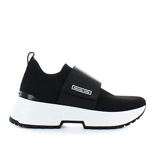 Sneaker MICHAEL KORS Cosmo Knit Slip ON Fabric Taglia 38 - Colore Nero: Amazon.es: Zapatos y complementos