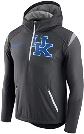 Nike Kentucky Wildcats 2017 Sideline Vapor Fly Rush Half-Zip Pullover Jacket  (Medium) aa07cbfe8050