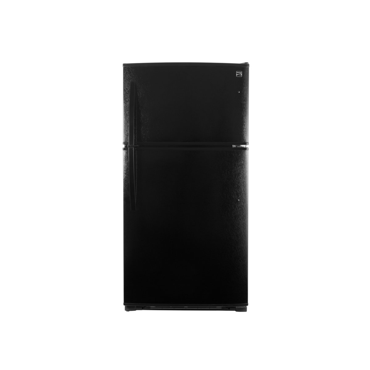 Kenmore 61219 20.8 cu.ft. Top-Freezer Refrigerator with LED Lighting in Black, includes delivery and hookup (Available in select cities only)
