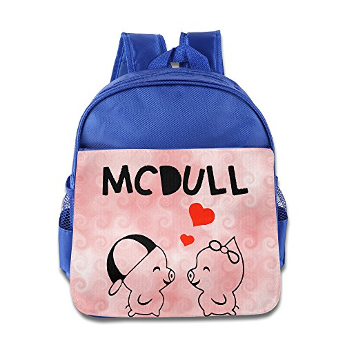 Show Time McDull Love Child Pre School Carry Bag RoyalBlue