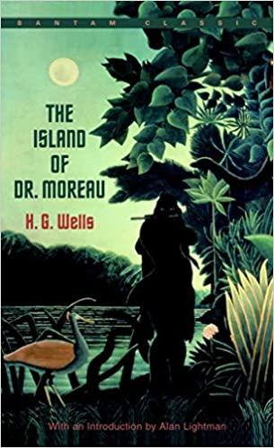Image result for book cover the island of dr moreau
