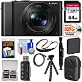 Panasonic Lumix DMC-LX10 4K Wi-Fi Digital Camera with 64GB Card +...