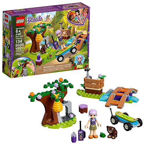 LEGO Friends Mia's Forest Adventure 41363 Building Kit , New 2019 (134 Piece) ()