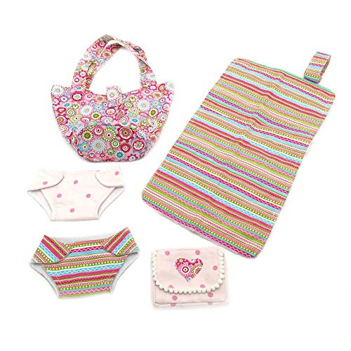 Baby Doll Complete Diaper Bag Set