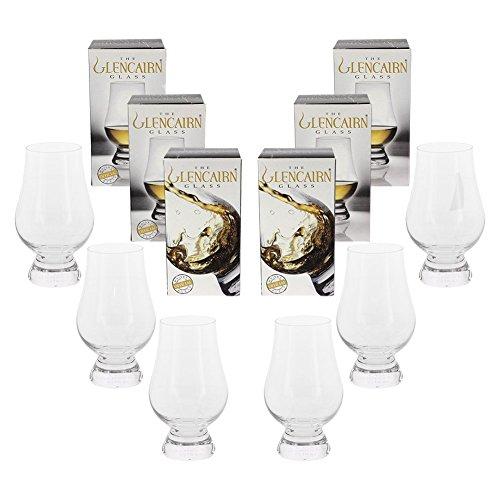 Glencairn Crystal Whiskey Glass, 6 Pack Gift Set