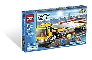 LEGO City Power Boat Transporter 254pieza(s) juego de construcción - juegos de construcción (Multicolor, 5 año(s), 254 pieza(s), 12 año(s), 30 cm, 7 cm)