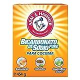 Arm & Hammer Bicarbonato de Sodio para Cocinar, color Blanco, 454 g