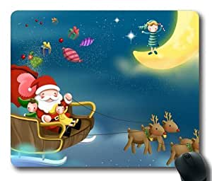 Christmas Snowman 009 Rectangle Mouse Pad,Gaming Mouse Pad by Lilyshouse