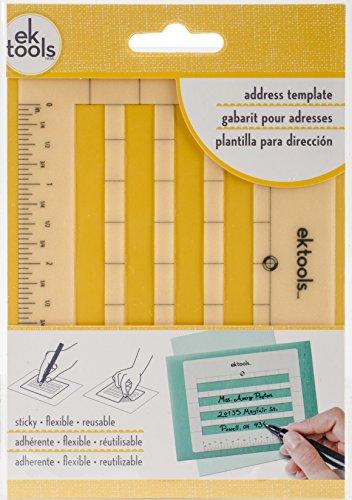 EK Success 54-02009 EK Tools Sticky Envelope Address Template