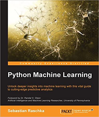 Python Machine Learning 1, Sebastian Raschka, eBook - Amazon com