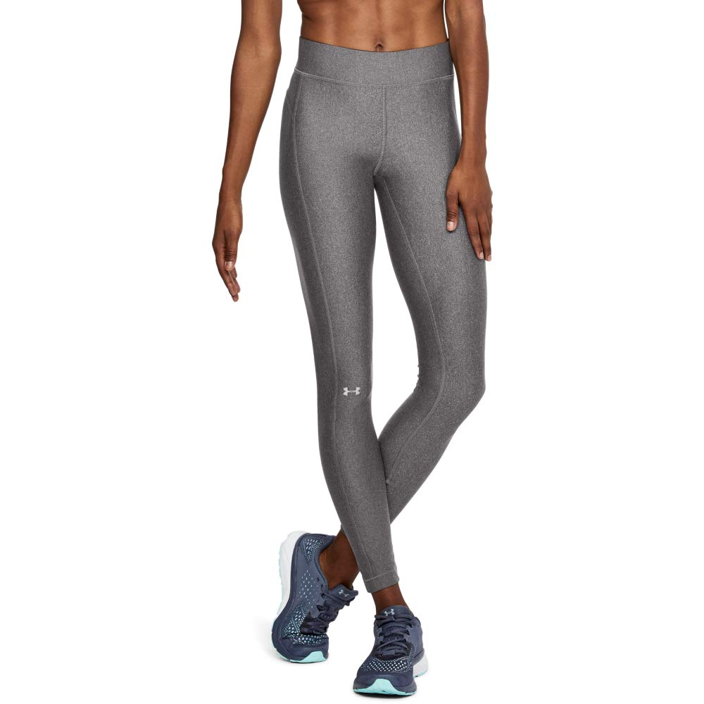 Under Armour Women's HeatGear Armour Leggings, Charcoal Light Heath (019), XX-Large Tall by Under Armour