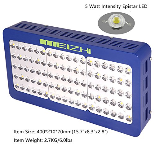 51KGnj5A2pL - MEIZHI Reflector Series 450W LED Grow Light Full Spectrum for Indoor Plants Veg and Flower Dual Growth and Bloom Switches