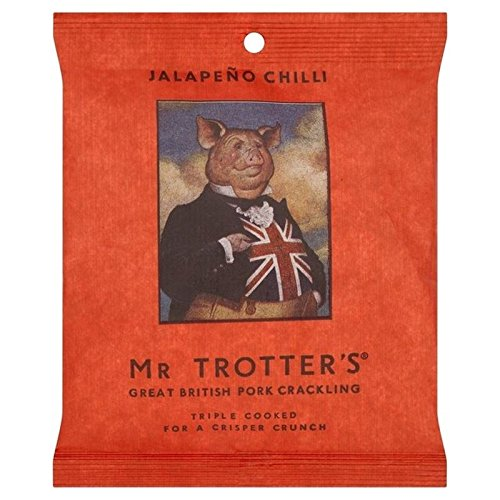 MR TROTTER SEEKS NEW BREED OF BRITISH PORK RIND SUPPLIERS