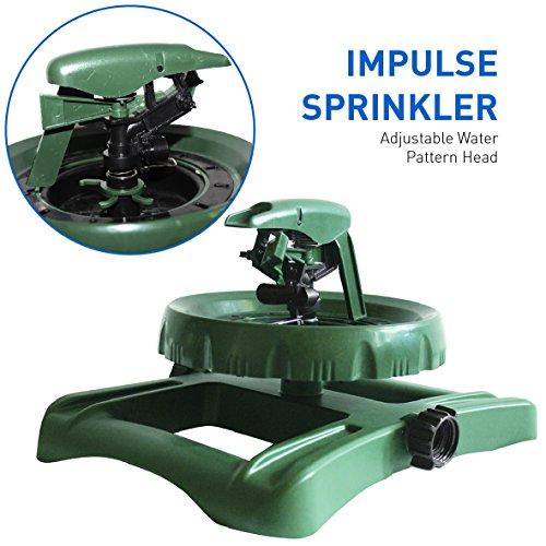 Impulse Sprinkler Adjustable Pattern Coverage