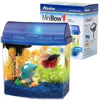 Amazon Com Aqueon Aqueon 01204 1 Gallon Mini Bow