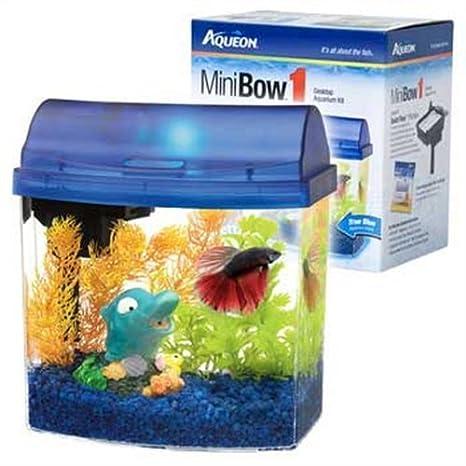 aqueon aqueon 01204 para hormigón Mini lazo Kit de acuario, color azul: Amazon.es: Productos para mascotas