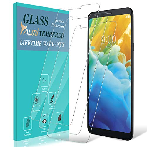 [3-Pack] TAURI for LG Stylo 4 Screen Protector, Tempered Glass Screen Protector with Lifetime Replacement Warranty