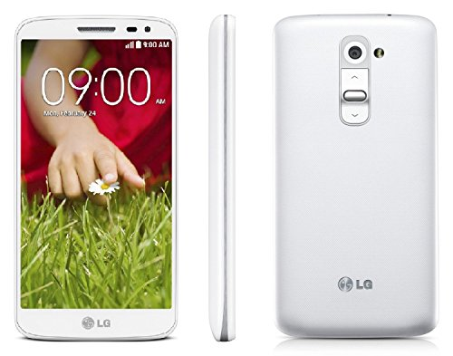 LG G2 Mini 3G DUAL D618 8GB Unlocked GSM Dual-SIM Android 4.4 (KitKat) Quad-Core Smartphone (Luna White) - International Version No Warranty (T Mobile Cell Phones Lg G2)