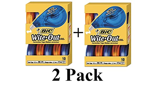 BICWOTAP10 Wite-Out EZ Correct Correction Tape