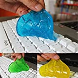 Gel Keyboard Cleaner Sticky Super Slimy for Computer Car PC Laptop Keyboard Dust Wiper Pack of 3