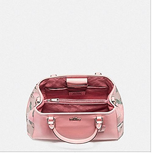 CAMO CARRYALL SMALL F25868 MARGOT FLORAL WITH ROSE COACH PRINT nIFqxCv