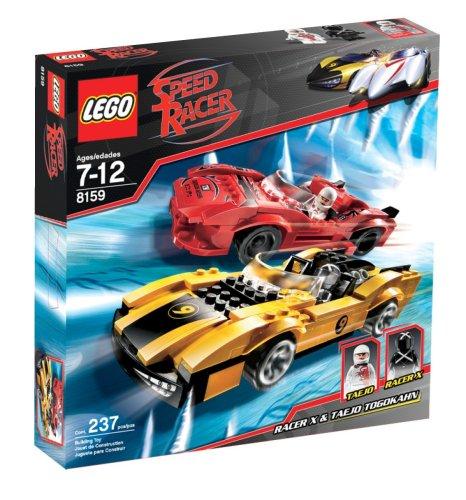 LEGO Racers:  Racer X & Taejo Togokahn