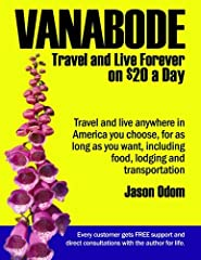 Revolutionary new travel book shows everyone regardless of current financial condition how to travel and live forever anywhere in the United States on $20 a day. Author Jason Odom and his wife Kelly have traveled over 700,000 miles in 15 year...