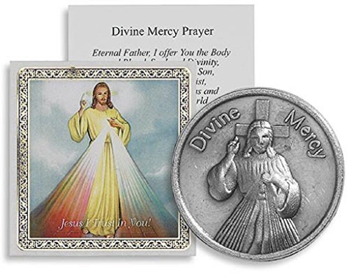 (Catholic Divine Mercy Pocket Devotions Tokens Coin)