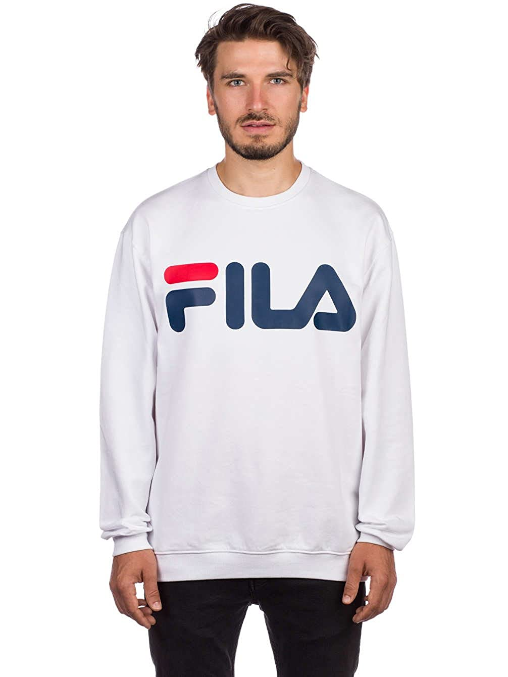 TALLA M. Fila Classic Logo Sweater, Sudadera